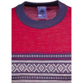 Aclima DesignWool Marius Rundhalsshirt Damen tango red
